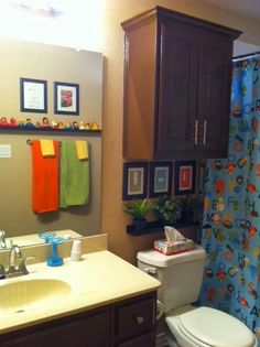 1000 images about kids bathroom themes decor on for Kids bathroom ideas boys
