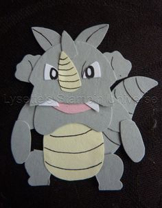 Gotta Craft Them All challenge dag 114: #Rhydon #Pokemon https://www.facebook.com/Lysettes.stampin.universe