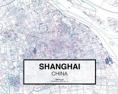 Download 2D CAD (dwg) file for the city ofShanghaiready to use.DWG file closedpolylinecomprising more than 25 different layers for Autocad