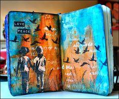 Creativity: love & peace..