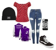 """""""date outfit"""" by emma35056 on Polyvore featuring Topshop and Vans"""