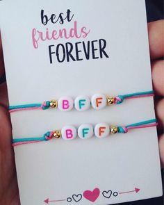 Diy Friendship Bracelets Patterns, Diy Bracelets Easy, Summer Bracelets, Bracelet Crafts, Diy Jewelry, Beaded Jewelry, Beaded Bracelets, Bff Gifts, Bijoux Diy