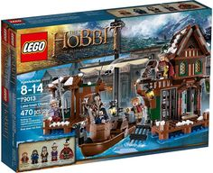 LEGO The Hobbit: The Desolation of Smaug Lake-Town Chase Play Set. This is one of my favorites. It is really sturdy and just love the brown colors. you get 5 GUYS with this set ! Lego Le Hobbit, The Hobbit, Lego City, Hobbit Desolation Of Smaug, Hobbit Films, Bilbo Baggins, Thorin Oakenshield, Buy Lego, Shop Lego