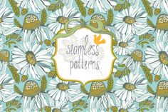 Check out Summer pattern by Marusha_Belle on Creative Market