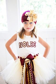 STOP it! Love this. FSU tutu