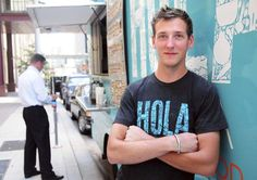 Q&A with Birk Stefan Grudem, co-owner of Hola Arepa food truck