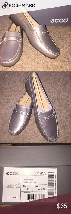 Selling this Ecco Bari Moc Loafers on Poshmark! My username is: namastjay. #shopmycloset #poshmark #fashion #shopping #style #forsale #Ecco #Shoes