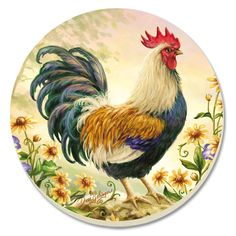 World needlework Lidiya Kostina and not only .: End of the Line part Images for decoupage Chicken Drawing, Chicken Painting, Chicken Art, Rooster Painting, Rooster Art, Farm Animals, Animals And Pets, Arte Do Galo, Chicken Pictures