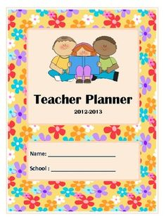 Teacher Planner- Floral Theme