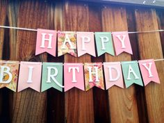 Banner+Birthday+Banner+Happy+Birthday+by+FabulouspaperDesigns,+$22.50