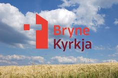 New visual identity for Bryne Church, which serves Bryne in the municipality of Time, Southwest-Norway. In Use, Visual Identity, Norway, Neon Signs, Gallery, Fonts, Logo, Projects, Designer Fonts