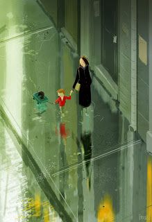Pascal campion - The Big Wet Love the reflections but...where is the reflection of the littlest one.