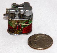 Vintage Miniature Cigarette Lighter, Made In Japan