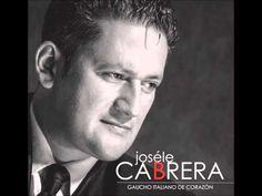 Que falta que me haces ( tango )  Joséle Cabrera - Gaucho italiano de co...