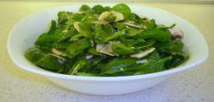 Sugg-r and some Salt: cinco ensaladas de verano con fruta {invitadas} #ponunaensalada Fresco, Spinach, Vegetables, Food, Fitness, Summer Salads, Tomato Salad, Stir Fry, Juicing