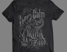 """Check out new work on my @Behance portfolio: """"KEEP CALM AND DRINK CRAFT BEER handlettered design"""" http://be.net/gallery/37763045/KEEP-CALM-AND-DRINK-CRAFT-BEER-handlettered-design"""
