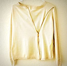 Trash To Couture: Add a zipper.