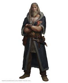Pathfinder Characters II, Javier Charro on ArtStation at https://www.artstation.com/artwork/DVdny