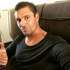 Departing NZ for Europe Manu Bennett, Young Old, Starz Series, See On Tv, Having A Crush, Beautiful Family, Sexy Men, Actors, Europe