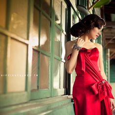 Red dress - TaipeiRoyalWed.tw 台北蘿亞結婚精品 紅禮服