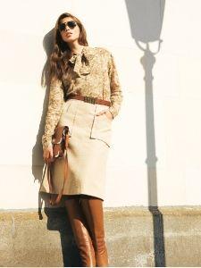 burda style: Damen - Röcke - Ausgestellte Röcke - Ausgestellter Rock - Stickereidetails