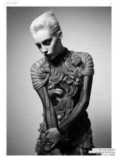Dress by Iris Van Heppen