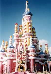 The bithday cake castle, you either loved it or hated it!