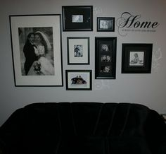13 Best Photo Wall Collage Ideas Images On Pinterest Picture Frame