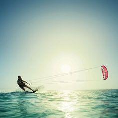 Kite Surfing! Siesta Key, FL
