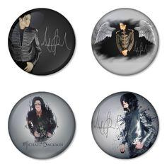"MICHAEL JACKSON 1.75"" Badges Pinbacks, Mirror, Magnet, Bottle Opener Keychain http://www.amazon.com/gp/product/B00CCKPY6Q"