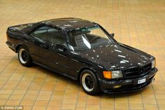 A 1983 Mercedes 500 SEC AMG owned by the Prince of Monaco Rainer III is expected to fetch £12,000