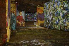 Spectacle « Gauguin, Van Gogh, les peintres de la couleur » (2012) | Carrières de Lumières #Provence #bauxdeprovence #carrièresdelumières #voyage #art #artistes