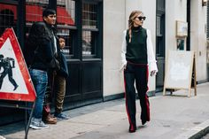 London Fashion Week Streetstyle - On the streets! De streetstyle highlights van London Fashion Week