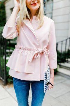 Pink Ruffle Jacket
