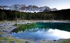 Lago di Carezza, Dolomites, Italy