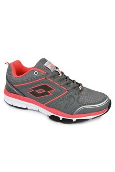 Dominate all form of sports and do it with style with the Andromeda IV running shoes. The women's shoes are available in cement & flou oral combination is extremely light weight. Its flexible nature makes the shoe useful for multi purpose use. The shoes have an upper made of nylon mesh and synthetic leather. The EVA outsole with rubber pads protects those areas most prone to wear and tear.