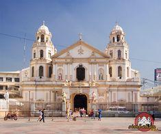 Quiapo Church - home of the much revered Black Nazarene icon Black Nazarene, Philippine Architecture, Community Places, Filipiniana, Manila Philippines, Old Churches, Catholic, House Plans, House Styles