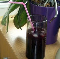 Blueberry Syrup. Ingredients: • 500 g sugar • 1 l water • the juice of half lemon