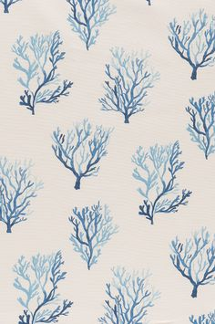 Lacefield Santorini - Cobalt textile | Printed in the USA www.lacefielddesigns.com  #interiors #coastalstyle #southernmade