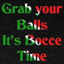 It's Bocce Time!  #Italian pastimes in #italy!