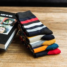 >> Click to Buy << 2016 The new Man fashion color striped in tube socks man socks autumn winter socks EUR39-44 #Affiliate