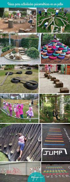 para crear patios de escuelas que inviten a jugar libremente y aprender ideas para estimular la psicomotricidad gruesa en el patio de la escuelaideas para estimular la psicomotricidad gruesa en el patio de la escuela