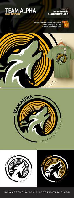 Team Alpha Logo Template - Free!