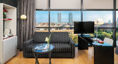 Hôtel à Barcelone, H10 Marina Barcelona - H10 Hotels jUNIOR SUITE 1,400 EURO 6 NIGHTS WITH BEAKFAST