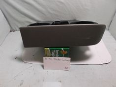 CUP HOLDER-ASHTRAY-96-00 DODGE-CARAVAN-CHRYSLER-TOWN&COUNTRY-DASH-DUAL-GRAY-3B #ChryslerTownCountryDASHOEMDRINKHOLDER