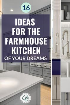 Read Annie and Oak's 16 Ideas for the Farmhouse Kitchen of Your Dreams post to discover top farmhouse kitchen hacks. Wanting to give your farmhouse kitchen a cozy and inviting vibe? We hear you! So don't settle for a typical farmhouse kitchen layout and do some magic. Annie and Oak is the real expert in farmhouse kitchens. Here are some tips and inspirations that will surely take your farmhouse kitchen experience to another level. #farmhousekitchendesign #farmhousekitchenideas