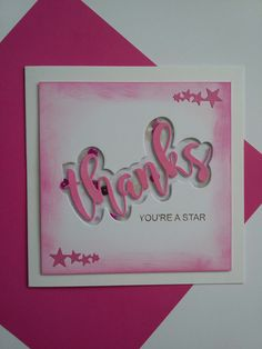 Just The Right Words Collection die from Stamps By Me #stampsbyme #dtsample #justtherightwordcollection #thanks #distressinks #shakercard #creative #craft #ilovetocraft