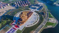 Colossal Statue of Guan Yu in Jingzhou