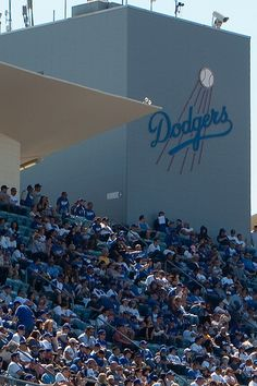 From the top deck, Dodger Stadium