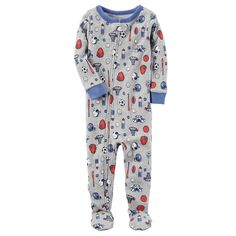6d49d8909 Lamaze Toddler Boys  Organic Dino Stretchy Footed Sleeper - Blue 12M ...